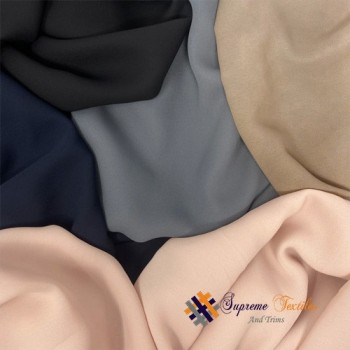 Georgette Plain Colors