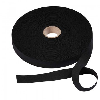Elastic (Flat 25mm Wide) Black