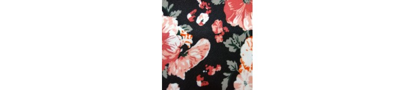 Poly Bengaline Stretch Printed. Order online now @ R49.95